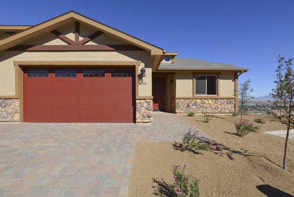 MLS 999267 534 Osprey Trail Building 534, Prescott, AZ Prescott AZ Peregrine Townhomes