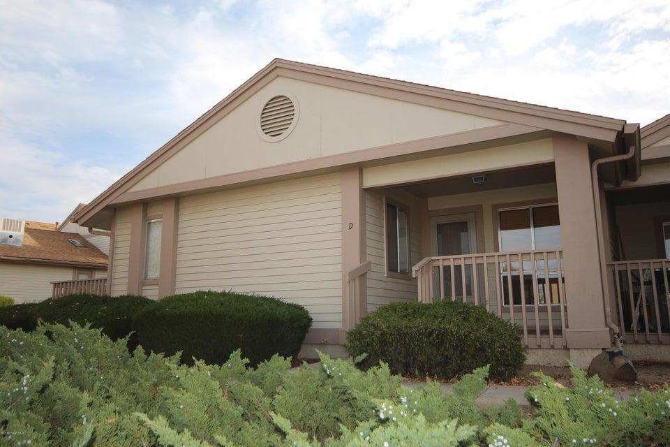 MLS 999900 3179 Shoshone Drive Unit 1d Building 3179, Prescott, AZ Prescott AZ Montana Villas