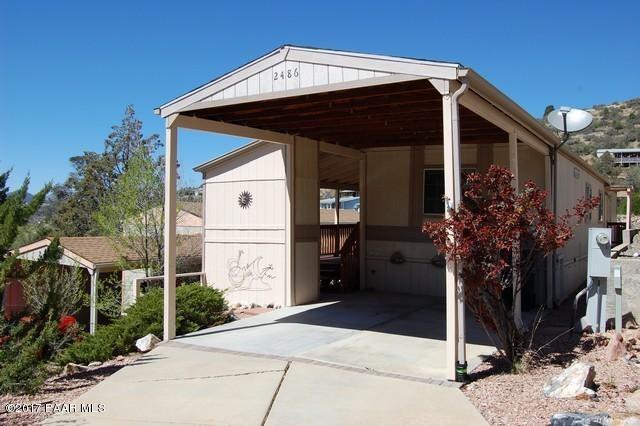 2486 E Hilltop Road Prescott, AZ 86301 - MLS #: 1002233
