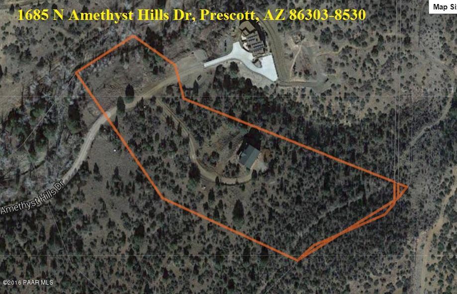 1685 N Amethyst Hills Drive Prescott, AZ 86303 - MLS #: 1003334