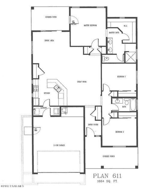 6214 E Bower Lane Prescott Valley, AZ 86314 - MLS #: 1004409
