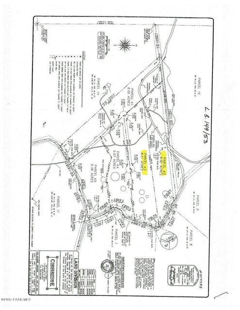 0 Dewey Overlook Way Dewey-Humboldt, AZ 86327 - MLS #: 1007954
