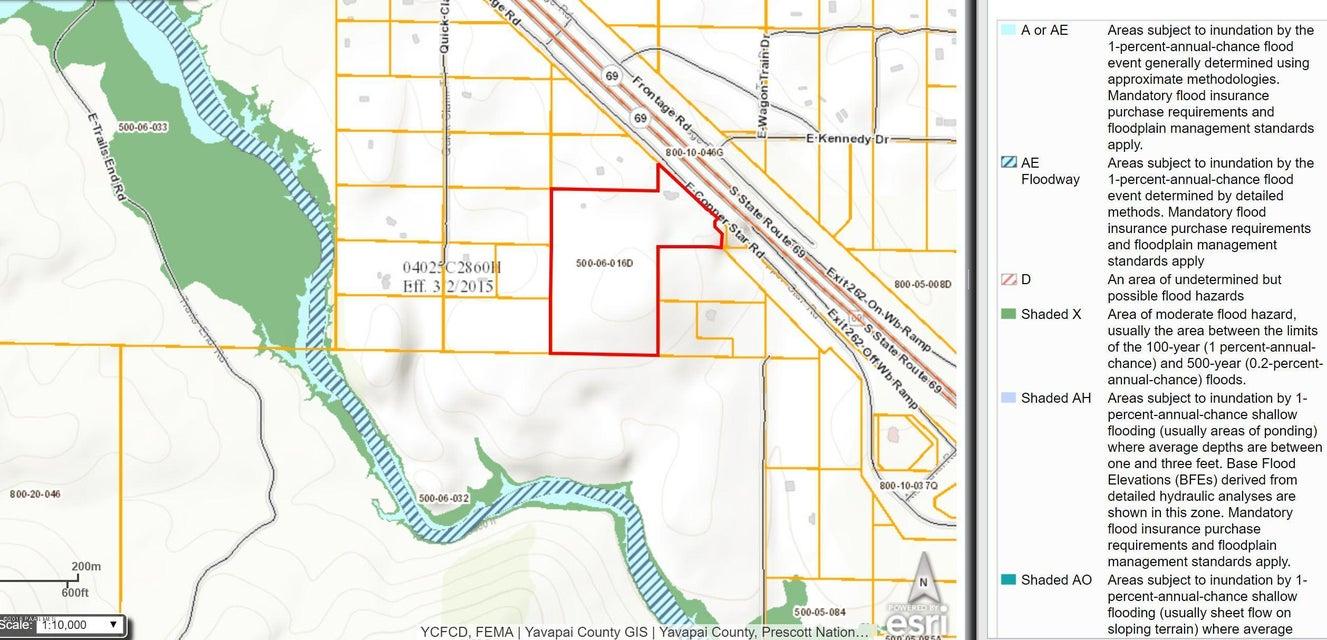 18899 E Copper Star Road Mayer, AZ 86333 - MLS #: 1010916