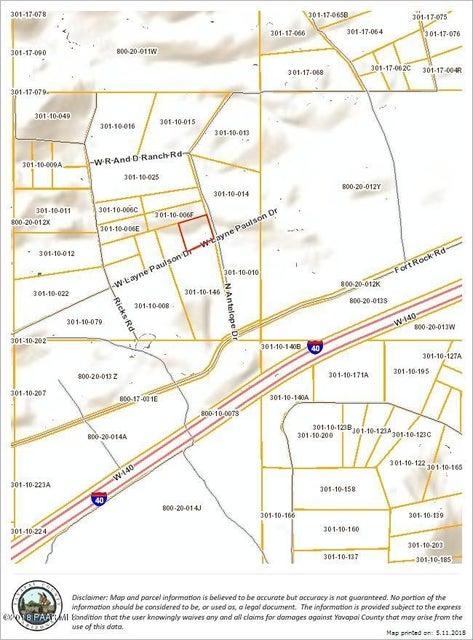 83 Antelope Drive Seligman, AZ 86337 - MLS #: 1011992
