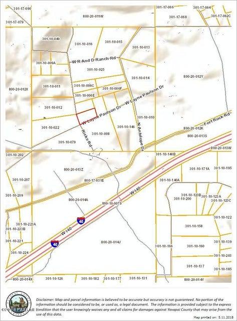 83 W Antelope Drive Seligman, AZ 86337 - MLS #: 1011996