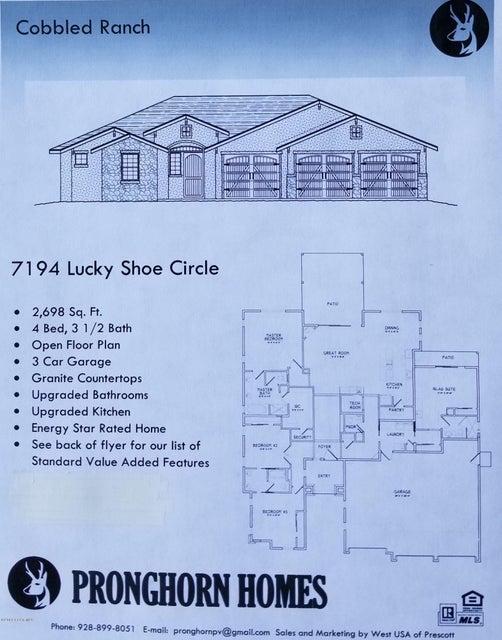 7194 N Lucky Shoe Circle, Prescott Valley, Arizona