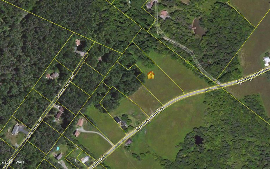 Davis R Chant Realtors AgentDetails - Aerial map spring hill road and us hwy 19 1990