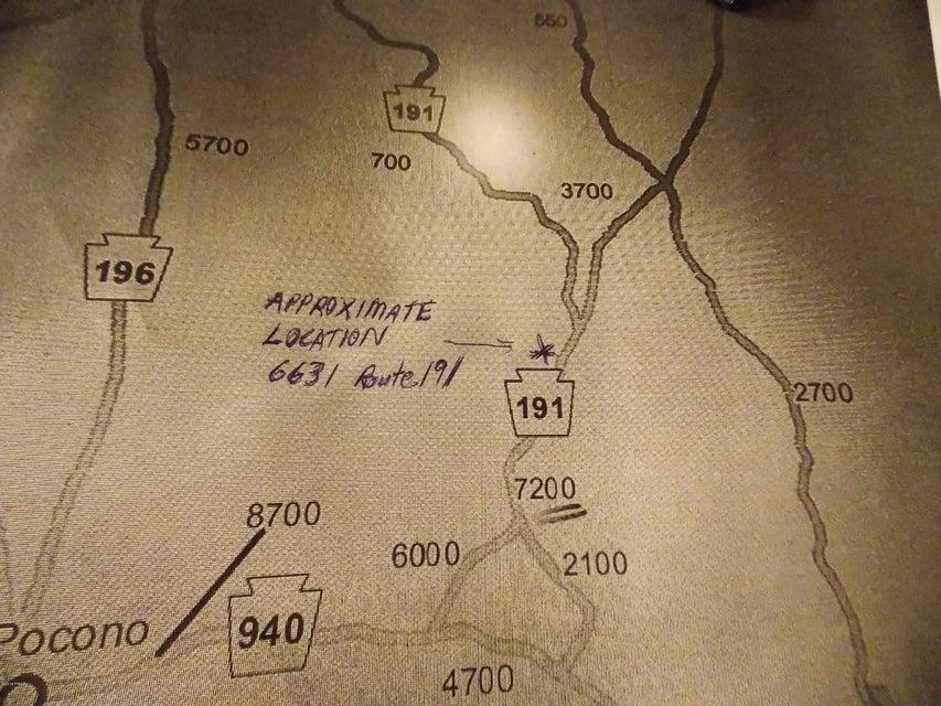 6631 Route 191 Cresco, PA 18326 - MLS #: 18-585