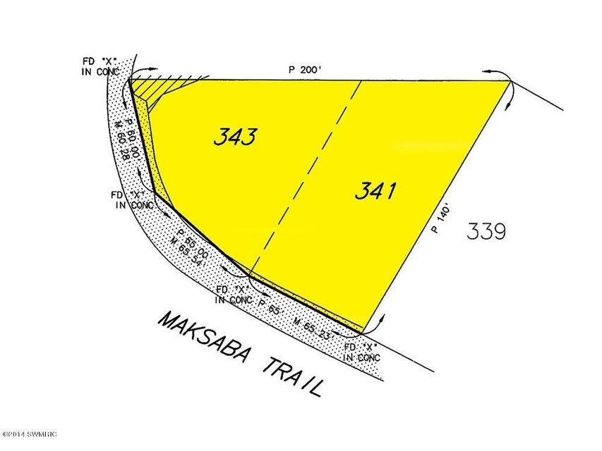 土地 为 销售 在 Maksaba Maksaba Macatawa, 密歇根州 49434 美国