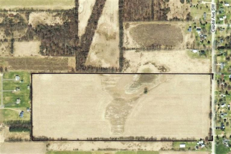 60 Acres! Approximately 55 tillable acres! Good producing high ground! Excellent addition to your farming operation! Currently in the PA 116 program through 12-31-17. Capital Avenue is the same as 4 1/2 Mile Road (2 miles south of Battle Creek and 1/4 mile west of M-66). Located between Sonoma Lake and Graham Lake in the Harper Creek School District! Sellers are interested in a possible trade for acreage closer to Fulton, Michigan.