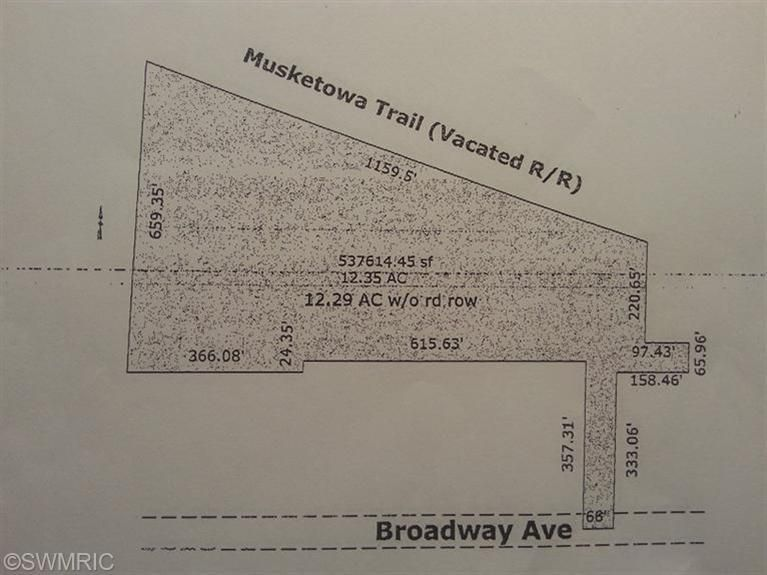 Land for Sale at Broadway Muskegon, Michigan 49444 United States