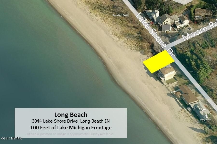 Land for Sale at 3044 Lake Shore Drive 3044 Lake Shore Drive Long Beach, Indiana 46360 United States