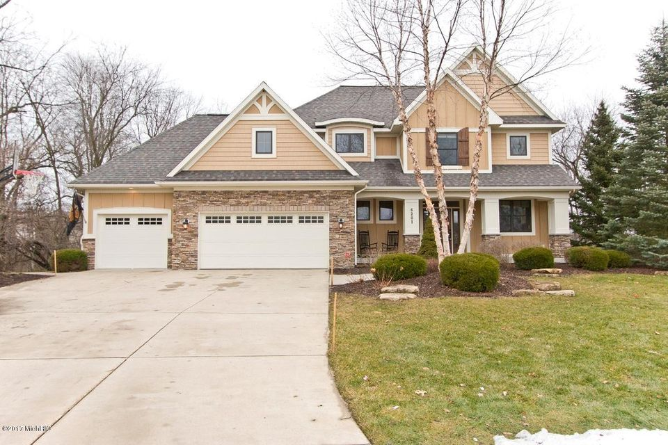 Single Family Home for Sale at 6201 Cascade Pointe Grand Rapids, Michigan 49546 United States