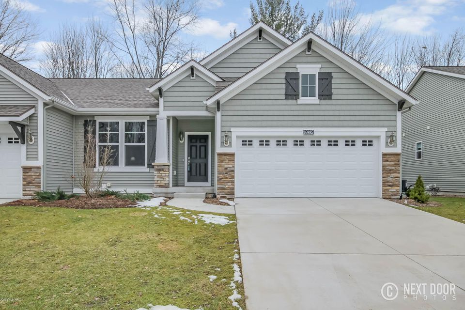Single Family Home for Sale at 16985 Pickett Nunica, Michigan 49448 United States