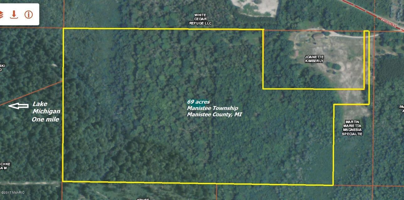 Land for Sale at VL Bentoski Manistee, Michigan 49660 United States