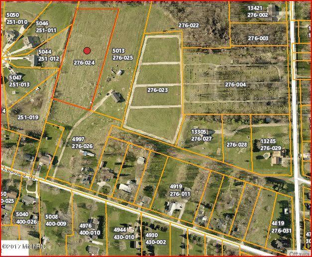 Land for Sale at -0- Leonard Coopersville, Michigan 49404 United States