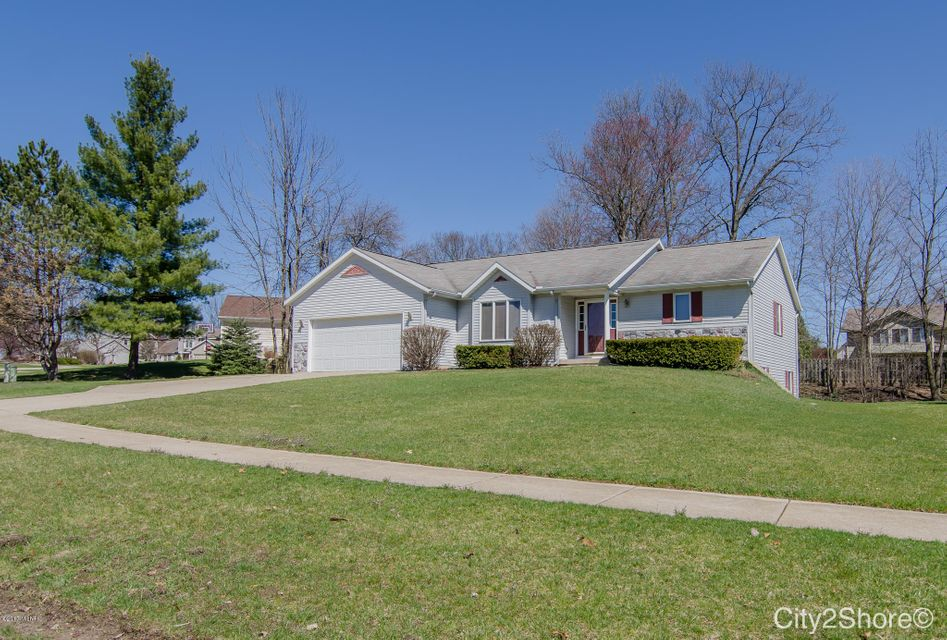 Single Family Home for Sale at 6706 Highmeadow Byron Center, Michigan 49315 United States