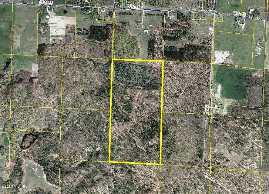 Land for Sale at Coates Manistee, Michigan 49660 United States