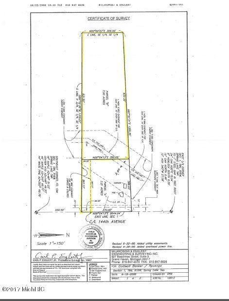 土地,用地 为 销售 在 VL 144th VL 144th 斯普林莱克, 密歇根州 49456 美国