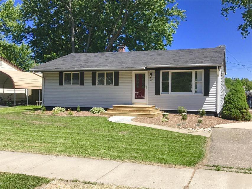 Single Family Home for Sale at 570 Riverside Watervliet, Michigan 49098 United States