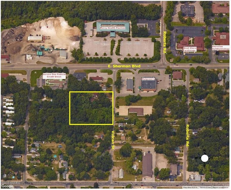 Land for Sale at 2649-2689 Vulcan 2649-2689 Vulcan Muskegon, Michigan 49444 United States
