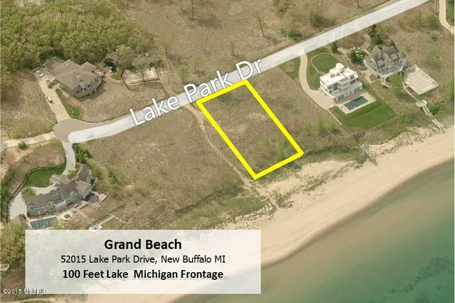 Land for Sale at 52015 Lake Park 52015 Lake Park New Buffalo, Michigan 49117 United States