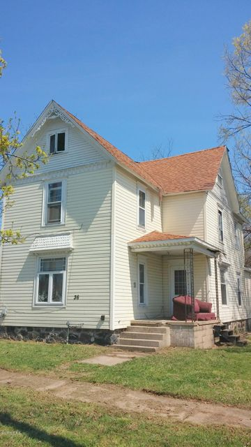 Single Family Home for Sale at 36 Cass Battle Creek, Michigan 49037 United States