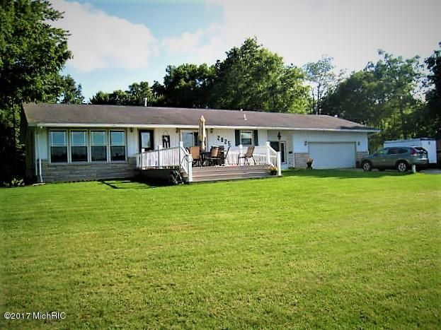 Single Family Home for Sale at 2825 Middle Lake 2825 Middle Lake Twin Lake, Michigan 49457 United States
