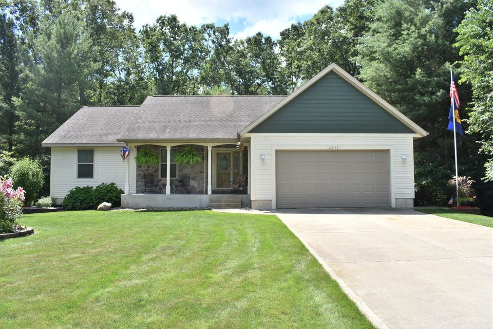 Single Family Home for Sale at 2255 Northwind 2255 Northwind Twin Lake, Michigan 49457 United States