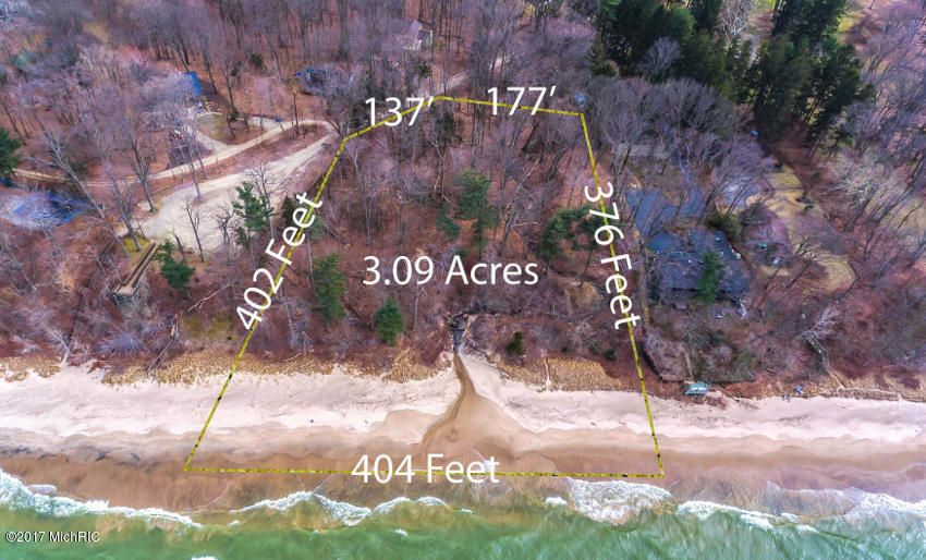 Land for Sale at 13870 Cherry Beach Road 13870 Cherry Beach Road Three Oaks, Michigan 49128 United States