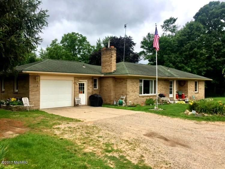 Single Family Home for Sale at 13353 60th 13353 60th Coopersville, Michigan 49404 United States
