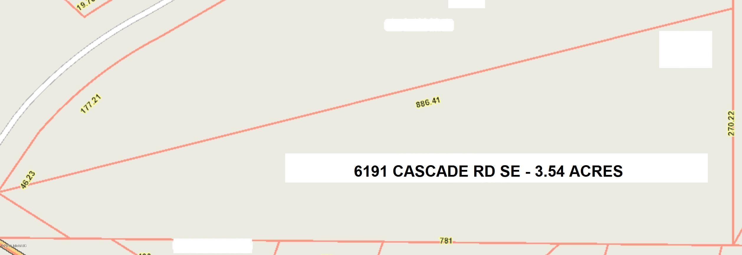 土地,用地 为 销售 在 6191 Cascade 6191 Cascade Grand Rapids, 密歇根州 49546 美国