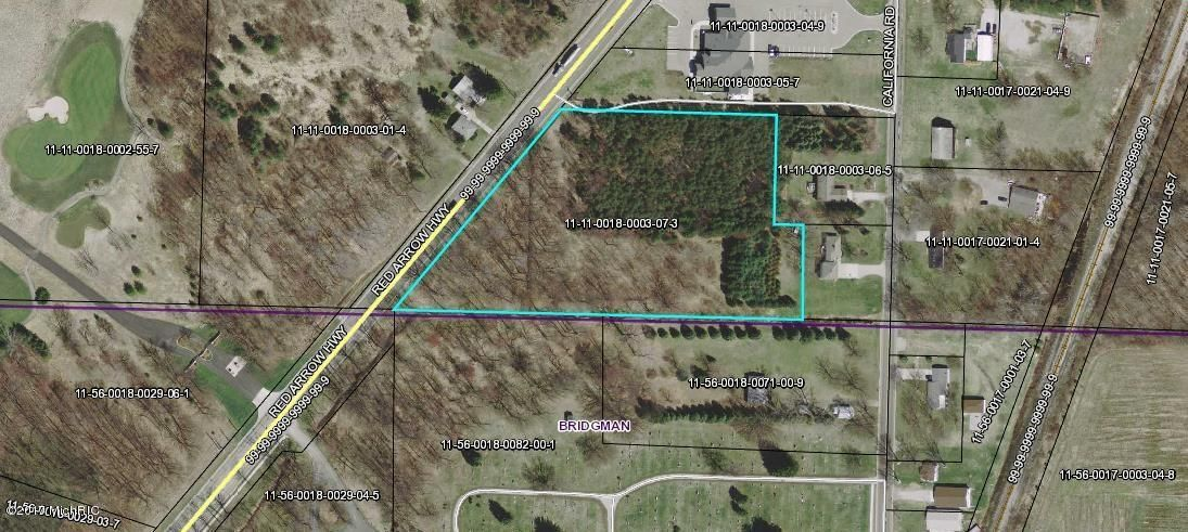 Land for Sale at V/L Red Arrow V/L Red Arrow Bridgman, Michigan 49106 United States