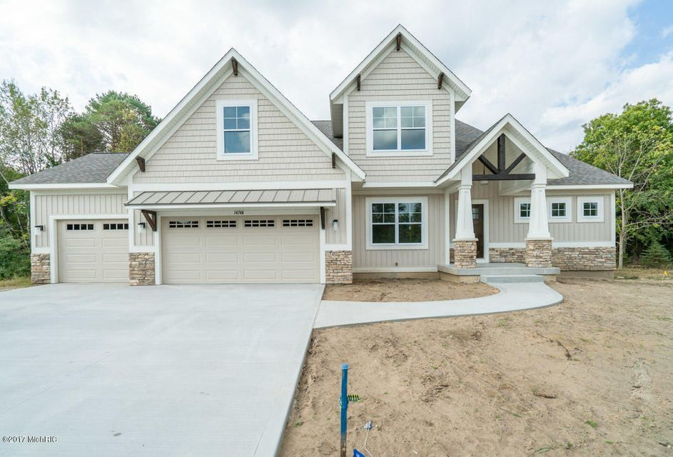 Single Family Home for Sale at 14748 Arcadia Woods 14748 Arcadia Woods Spring Lake, Michigan 49456 United States