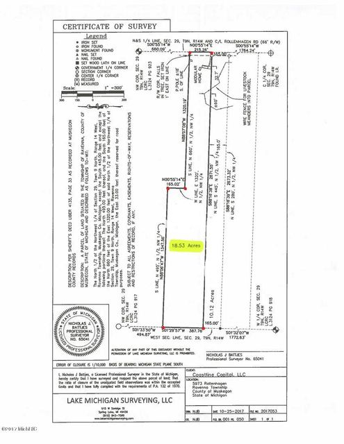 Single Family Home for Sale at 5983 Rollenhagen 5983 Rollenhagen Ravenna, Michigan 49451 United States