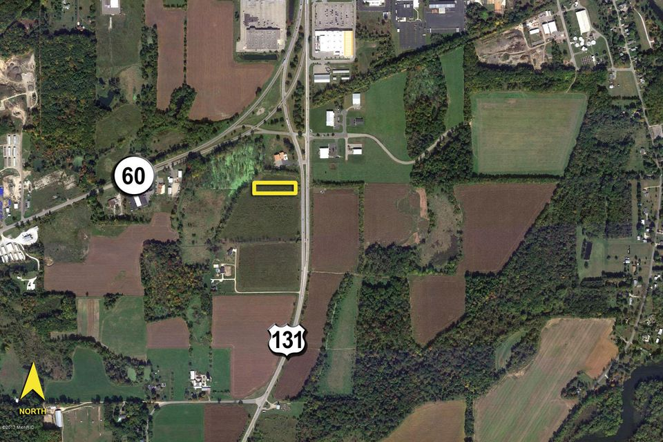VL US Highway Three Rivers MI MLS - Us 131 map