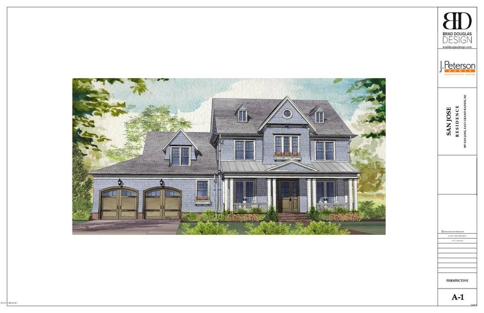 Single Family Home for Sale at 907 San Jose 907 San Jose Grand Rapids, Michigan 49506 United States