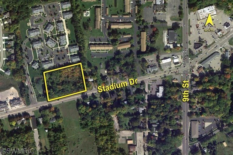 Land for Sale at VL Stadium VL Stadium Kalamazoo, Michigan 49009 United States