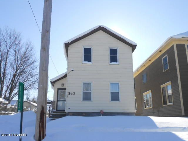 Single Family Home for Sale at 1143 Washington 1143 Washington Muskegon, Michigan 49441 United States