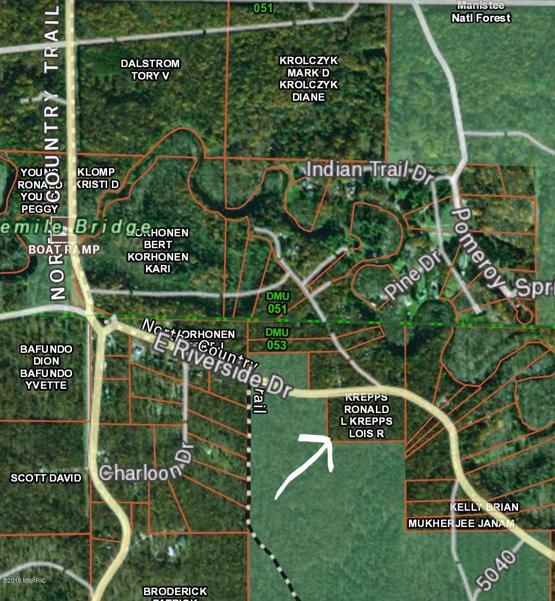 Land for Sale at Riverside Riverside Manistee, Michigan 49660 United States