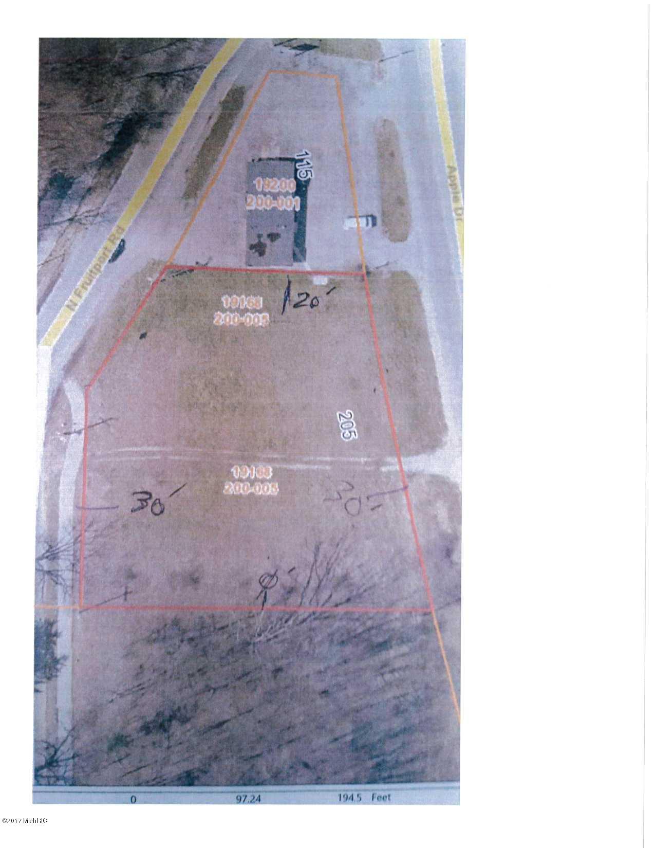 土地,用地 为 销售 在 19168 148th 19168 148th 斯普林莱克, 密歇根州 49456 美国