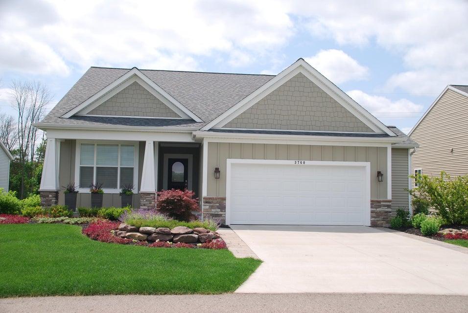 Single Family Home for Sale at 3934 Preserve 3934 Preserve Belmont, Michigan 49306 United States