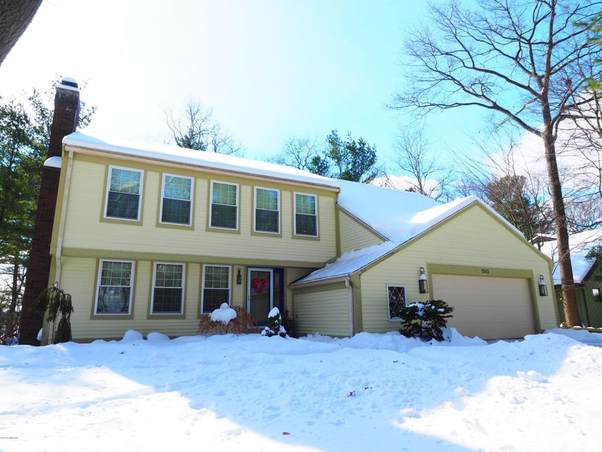 Single Family Home for Sale at 1543 Brookwood 1543 Brookwood Muskegon, Michigan 49441 United States
