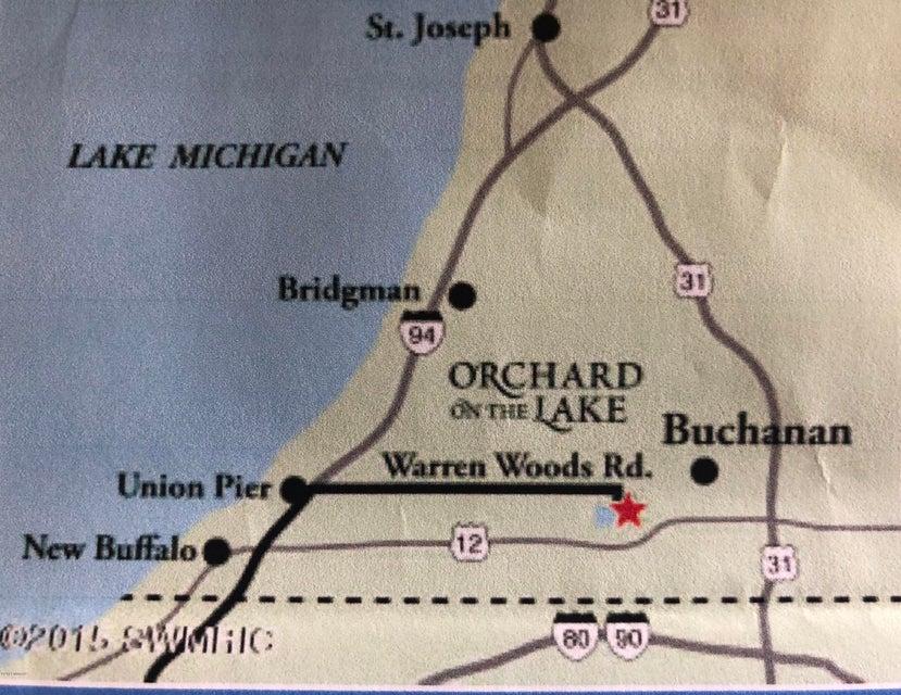 Buchanan Michigan Map.Pine Lake Real Estate For Sale