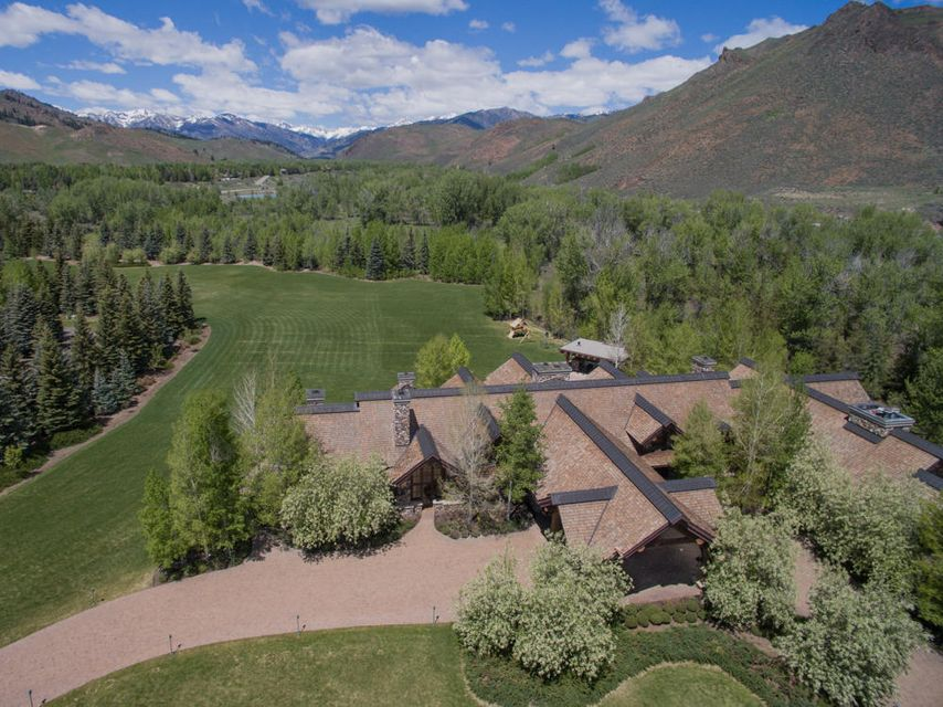 Single Family Home for Sale at 126 Old Mill Rd Ketchum, Idaho,83340 United States