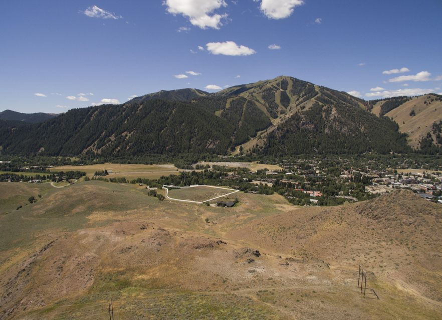 Tucked Away Behind Downtown Ketchum On The Backside Of Dollar Mountain Is  This Estate Lot With Incredible Views And Total Privacy.