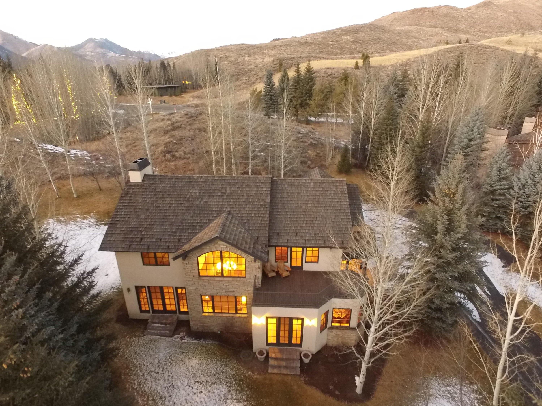 Maison unifamiliale pour l Vente à 3 Lane Crk 3 Lane Crk Sun Valley, Idaho,83353 États-Unis