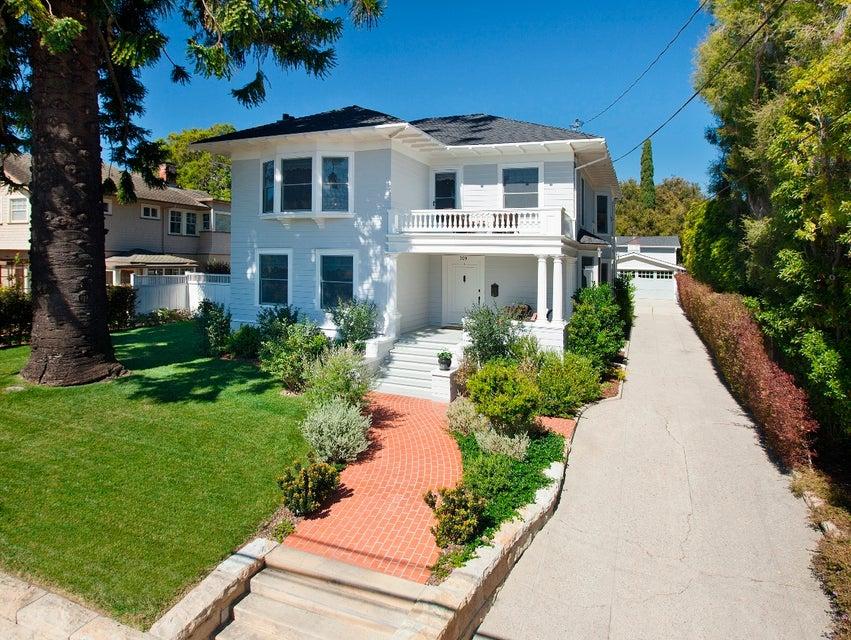 Property photo for 309 E Valerio St Santa Barbara, California 93101 - 13-745