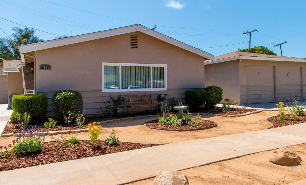 Property photo for 4121 San Martin Way Santa Barbara, California 93110 - 14-2794