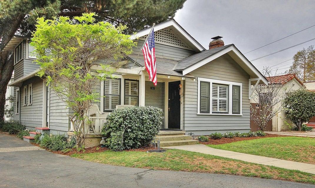 Property photo for 1221 San Andres St #A Santa Barbara, California 93101 - 15-857